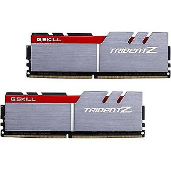 G.Skill PC RAM kit Trident Z F4-3200C16D-16GTZB 16 GB 2 x 8 GB DDR4 RAM 3200 MHz CL16-18-18-38