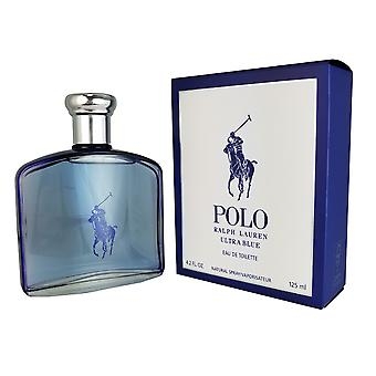 Polo Ultra Blue for Men by Ralph Lauren 4.2 oz Eau De Toilette Spray