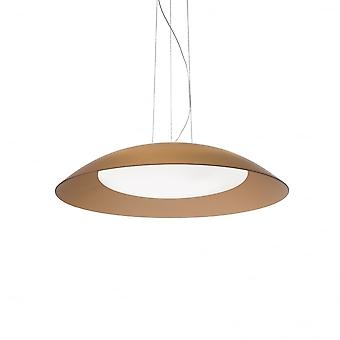 Ideal Lux Lena 3 Lámpara colgante luz D64 Marrone