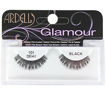 Ardell Glamour False Eyelashes 101 Demi Black