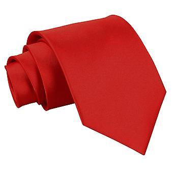 Apple Red ren sateng klassisk slipset