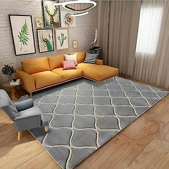100% Wool Attractive Rugs Grey In Color