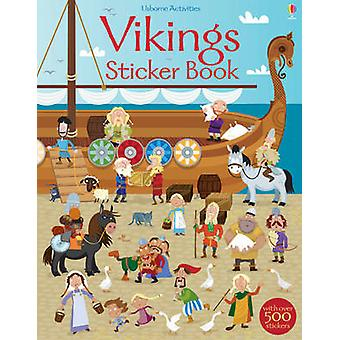 Vikings Sticker Book by Fiona Watt - Paul Nicholls - 9781409563433 Bo