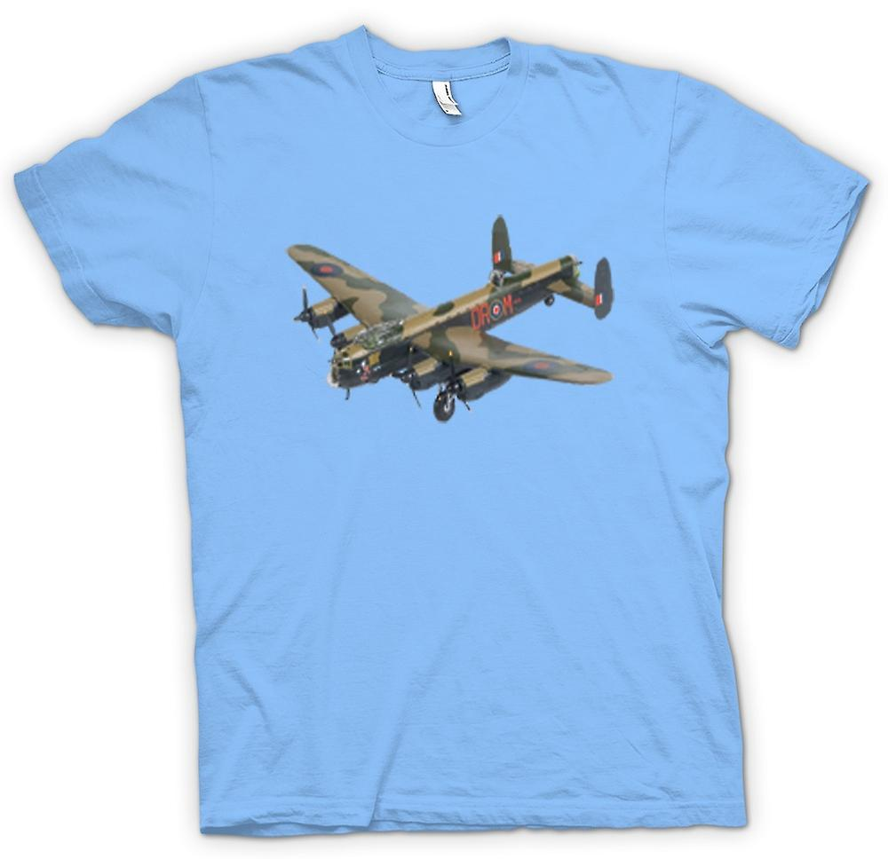 Mens T-shirt-Fighter Flugzeug Bomber Camouflage