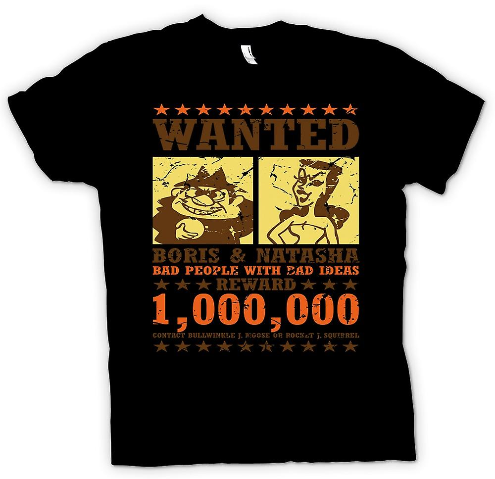 Kids T-shirt - Wanted - Boris & Natasha - Funny