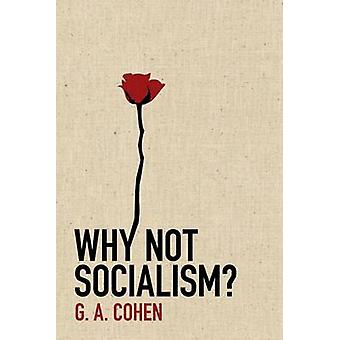 Why Not Socialism? by G. A. Cohen - 9780691143613 Book