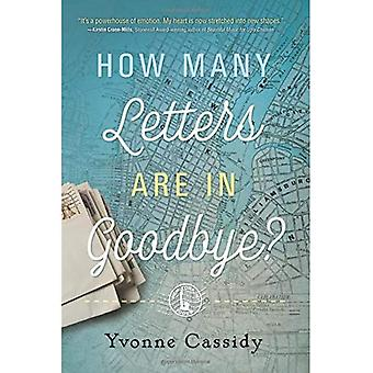 How Many Letters are in Goodbye