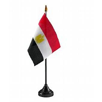 Egypte tabel vlag met Stick en Base