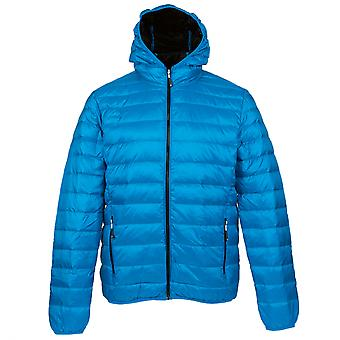 Alvivo padded men's outdoor duck down jacket turquoise