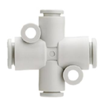 SMC Pneumatic Cross Tube-To-Tube Adapter Connection A 6Mm, B 8Mm, C 6Mm, D8Mm