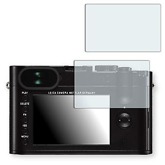 Leica Q screen protector - Golebo crystal clear protection film