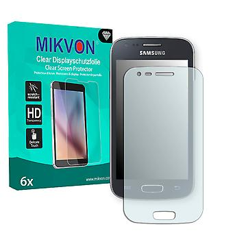 Samsung S7275 Galaxy Ace 3 LTE Screen Protector - Mikvon Clear (Retail Package con accessori)