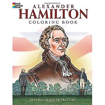 Libro de colorear de Alexander Hamilton