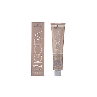 IGORA ROYAL ABSOLUTES anti age färg creme 5-50