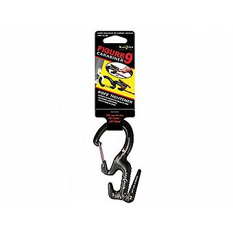 Nite Ize Carabiner Figure 9 Large Black Colour