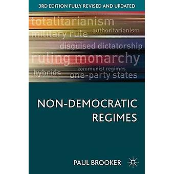 NonDemocratic Regimes di Brooker Paul