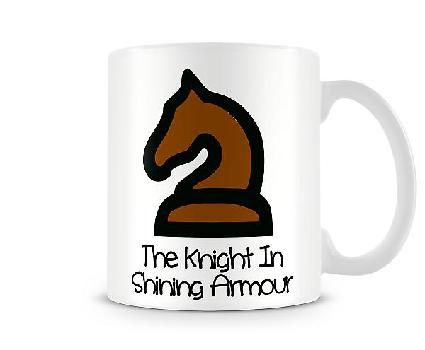 Decorative Writing The Knight In Shining Armour Printed Text Mug