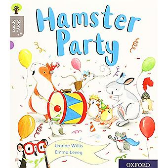 Oxford Reading Tree Story Sparks - Oxford Level 1 - Hamster Party by Je