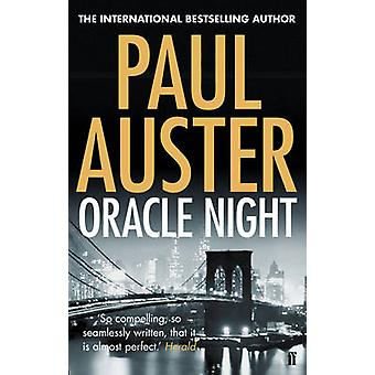 Oracle Night by Paul Auster - 9780571276622 Book