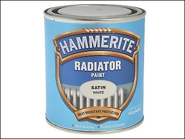 Hammerite Radiator verf satijn wit 500ml