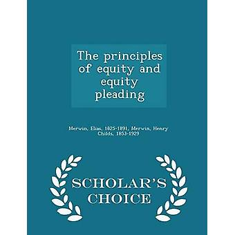 The principles of equity and equity pleading  Scholars Choice Edition by Merwin & Elias