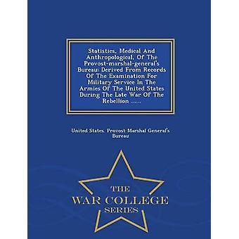 Statistiche mediche e antropologiche del Bureau Provostmarshalgenerals derivato da record dell'esame per il servizio militare negli eserciti degli Stati Uniti durante la guerra tarda di dagli Stati Uniti. Provost Marshal Generals