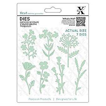 Xcut Dies Meadow Flowers (7pcs) (XCU 503348)