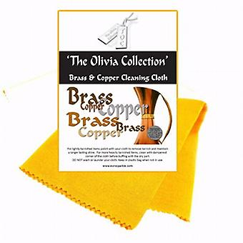TOC Brass & Copper Anti Tarnish Cleaning & Polishing Cloth  440mm x 315mm