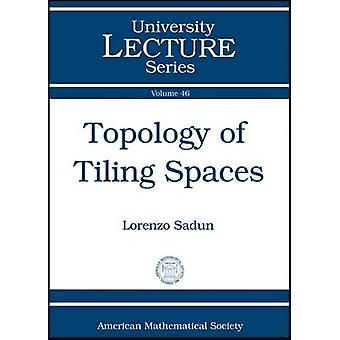 Topology of Tiling Spaces by Lorenzo Adlai Sadun - 9780821847275 Book