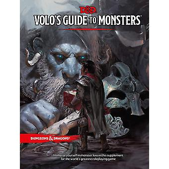 Dungeons & Dragons RPG-Volos Guide To Monsters Book