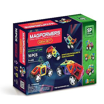 Magformers Wow Magnetic Set Building and Construction Educational Toy