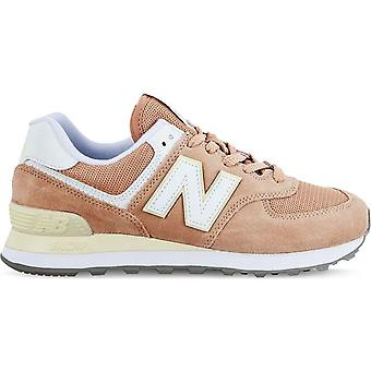 New Balance WL574 Damen Sneaker Gelb / Orange