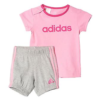 Adidas Infant Girls Summer Easy Set Tee and Shorts - AK2610