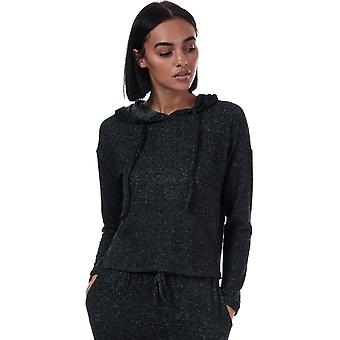 Womens Brave Soul Brushed Hoody In Charcoal