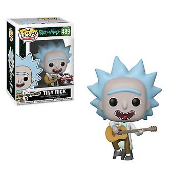 Rick and Morty Tiny Rick with Guitar US Exclusive Pop! Vinyl