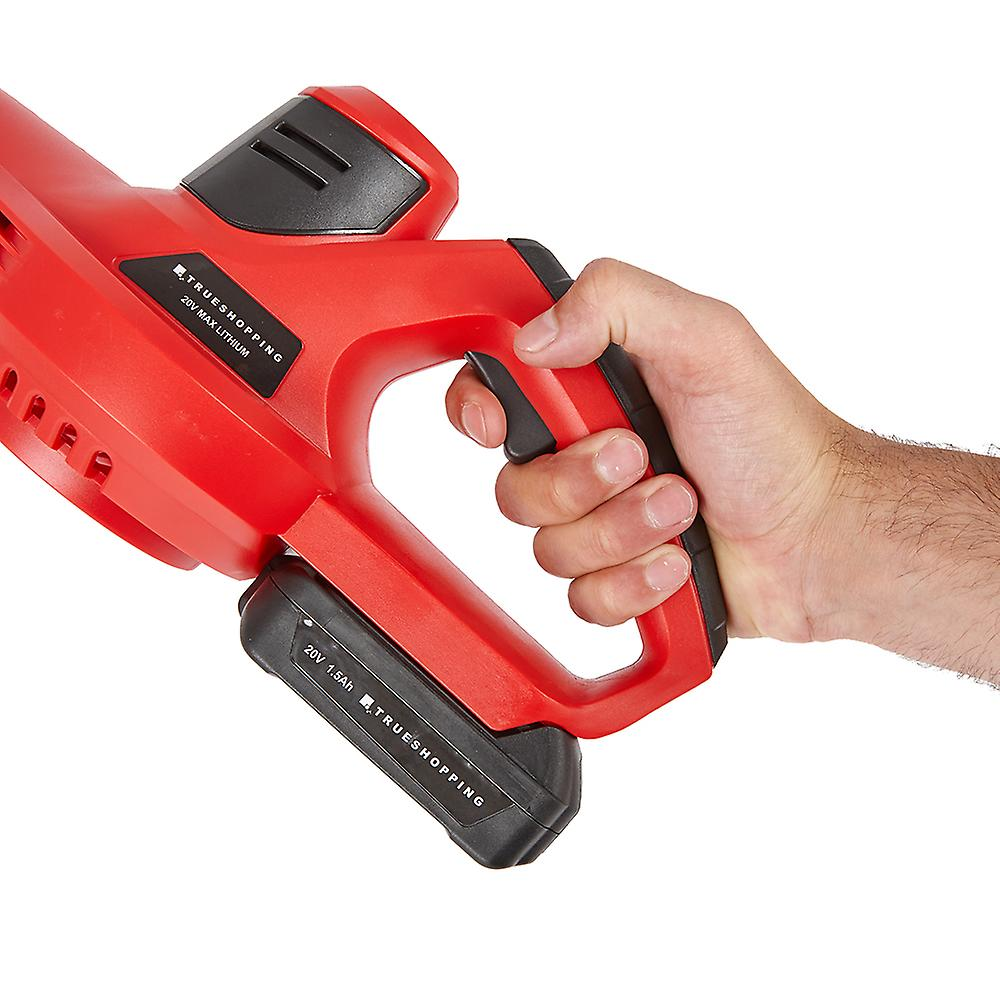 Compact Lightweight Cordless 20V Leaf Blower - Li-Ion Battery & Fast Charger