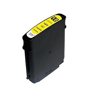 18 18 High Yield Yellow Compatible Inkjet Cartridge