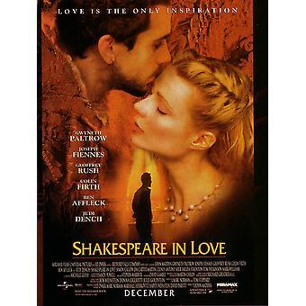 Shakespeare In Love (Double Sided Regular) (1998) Original Kino Poster
