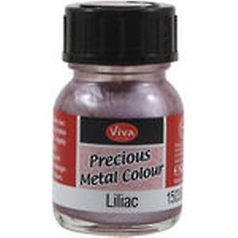 Viva Decor Precious Metal Color 25Ml Pkg Lilac Vvpmc 35027