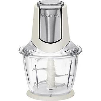 Food chopper Clatronic MZ3560 creme-inox 300 W Cream, Stainless steel