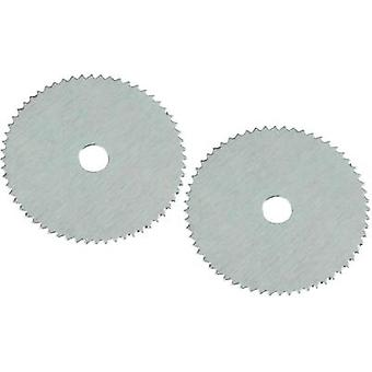 RONA 826617 Pack of 2 circular saw blades, Diameter: 19 mm Thickness: 0.1 mm