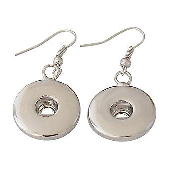 Stainless steel earrings for click buttons KB3302