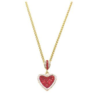Butler  and  Wilson Crystal Heart Pendant