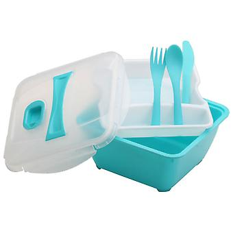 Cmp-Paris With lunchbox plate and cutlery Ka1444