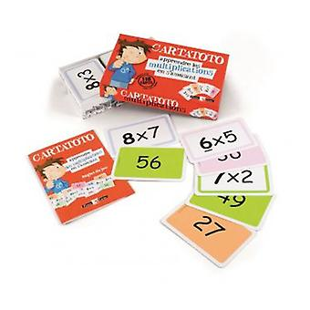 Cayro Cartatoto Multiplications (Kids , Toys , Education , Numbers )