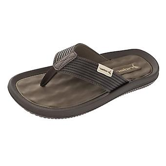 Fahrer Flip-Flops Amazon Mens Sandalen - Brown