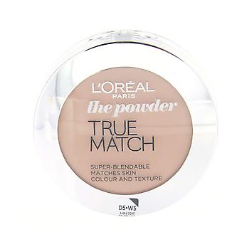 Loreal True Match puder W5 gyllene Sand