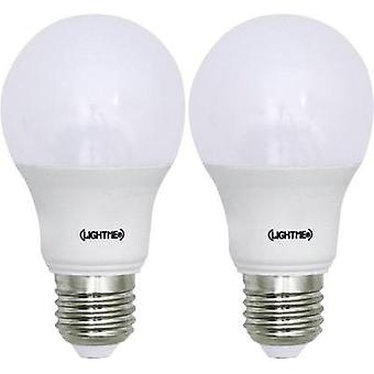 LED E27 Arbitrary 8.5 W = 60 W Warm white (Ø x L) 60 mm x 110 mm EEC: A+ LightMe 2 pc(s)