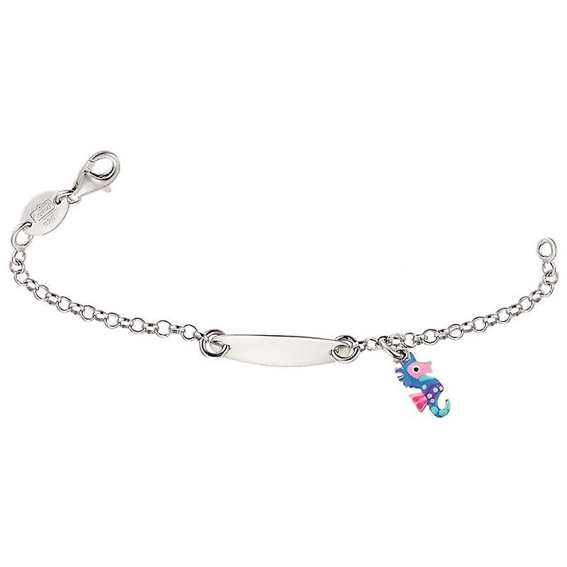 Scout Children ID bracelet engraved kids bracelet sea horse girl 260203100