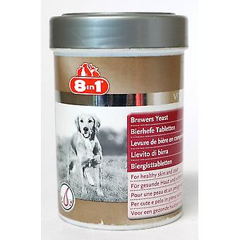 8in1 Dog Skin And Coat Brewers Yeast 260 Tablets